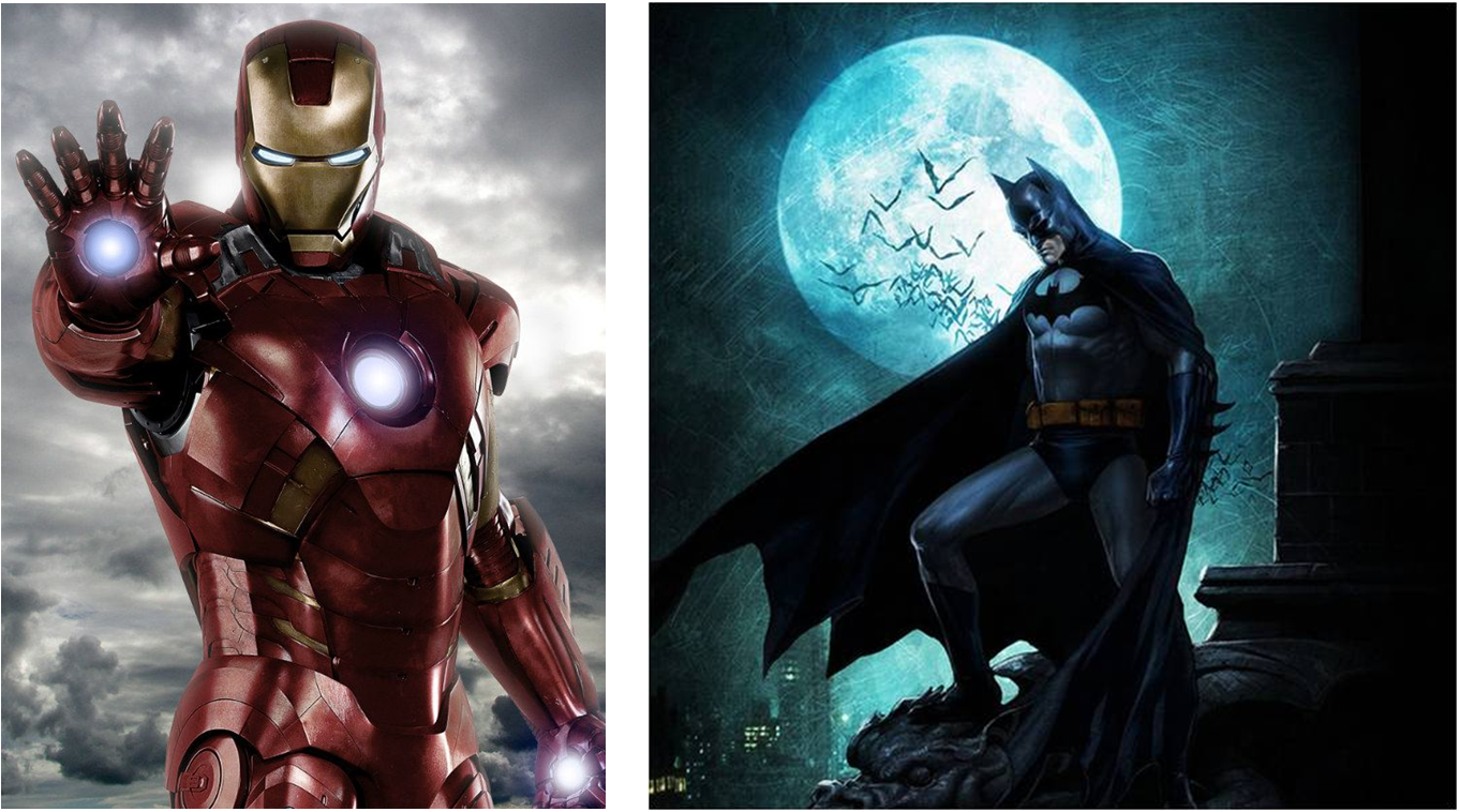 batman y ironman