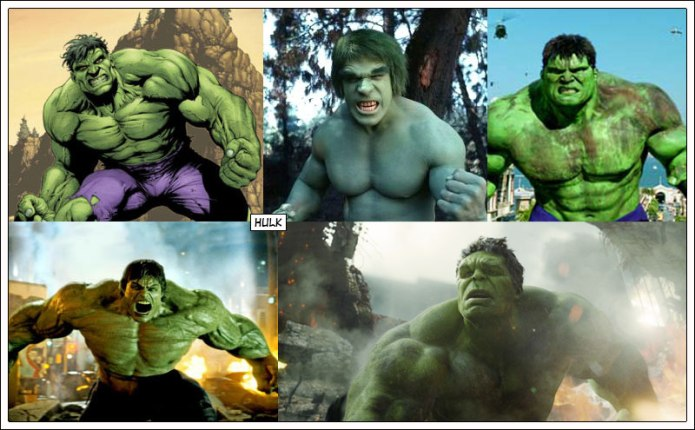 the-many-faces-of-hulk